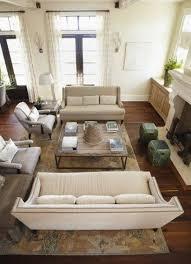 trendy wohnzimmer layout mit zwei sofas 35 ideen trendy