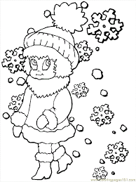 Weather Season Colouring Pages