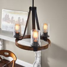 Chandelier Terrific Candle Lowes Dining Room Chandeliers Round Dark Brown With Glass