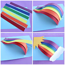 3d Over The Rainbow Craft For Kids