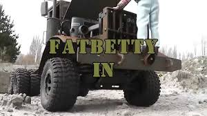 100 Rc Army Trucks FATBETTY The Quarry Yard Home Made Steel RC Army Truck YouTube