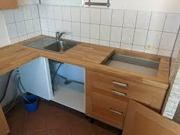 ikea faktum küche mit kühlschrank und spüle