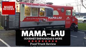 Mama-Lau Gourmet Empanadas & More - Food Truck Review - YouTube