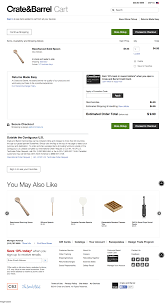 Crate & Barrel - 13 Examples Of 'Cross-sell' Checkout Steps ... Pottery Barn Fniture Shipping Coupon 4 Corner Fingerboards Coupon Code Crate Barrel Coupons Doki Coupons Hello Subscription And Barrel Code 2013 How To Use Promo Codes For Crateandbarrelcom Black Friday 2019 Ad Sale Deals Blacker And Discount With Promotional Emails 33 Examples Ideas Best Practices Asian Chef Mt Laurel Taylor Swift Shop Promo Codes Crateand 15 Off 2018 Galaxy S4 O2 Contract