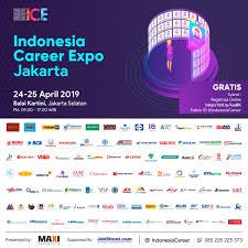 INDONESIA CAREER EXPO Jakarta April 2019 Jadwal Event