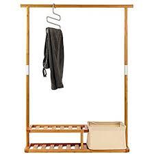 Amazon Segarty Multi Purpose Bamboo Clothing Garment Rack