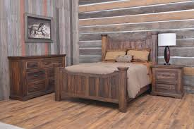 Knotty Pine Bedroom Furniture by Home Furnishings For Cabin Interiors Bedroom Collection