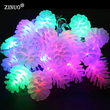 Pine Cone Christmas Tree Lights by Online Get Cheap Pinecone Christmas Lights Aliexpress Com