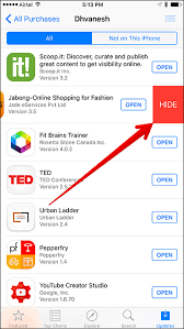 How to Hide Purchased Apps on iPhone iPad in iOS 9