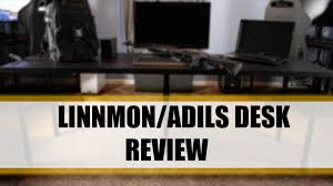 Linnmon Corner Desk Hack by Ikea Linnmon Adils Desk Review Youtube