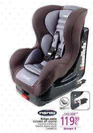 promo siege auto cora promotion siège auto cosmo sp isofix nania siège voiture
