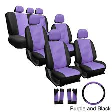Oxgord Synthetic Faux Leather 23-piece Truck And Van Seat Covers ...