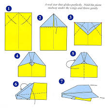 Paper Airplane Templates Printable
