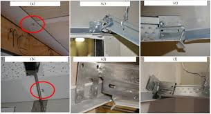 Suspended Ceiling Calculator Usg by Capacity Evaluation Of Suspended Ceiling Perimeter Attachments
