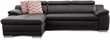 cavadore ecksofa aniamo mit xl longchair links leder eckcouch mit kopfteilfunktion im modernen design sitzecke für wohnzimmer in lederoptik