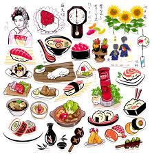 scrapbooking cuisine 31pcs self made japanese food sushi scrapbooking stickers