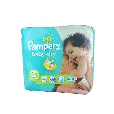 Pampers Baby Dry Diaper - Size 3, 30ct