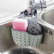 großhandel spüle schwamm ablaufkorb halter pp gummi wc seife regal organizer küche schwamm lagerregal waschlappen werkzeuge sunflowerxiangyang