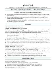 Call Centre Resume Samples For Freshers