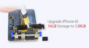 iPhone 6s Memory Upgrade From 16GB to 128GB