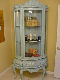 Curved Glass Curio Cabinet by Furniture Striking Curio Cabinets For Sale U2014 Fujisushi Org