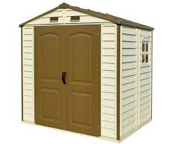 Shed Anchor Kit Instructions by Duramax Storeall 8x5 5 Vinyl Shed W Foundation Kit 30115