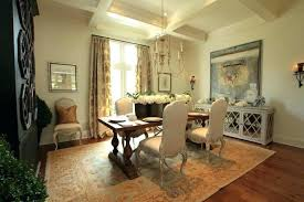 Dining Room Buffet Ideas Sideboard Decorating Amusing Buffets Wooden Table Baskets Flowers Plates Pots