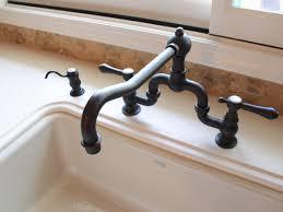 Oil Rubbed Bronze Faucets by Kitchen Unique Oil Rubbed Bronze Kitchen Faucet With Double