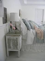 Greyish Shabby Chic Bedroom