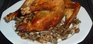 cuisiner poulet au four cuisson du poulet roti au four