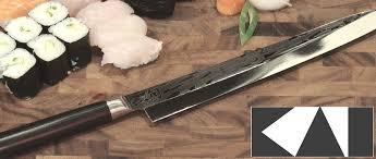 accessoire cuisine japonaise les couteaux de cuisine japonais