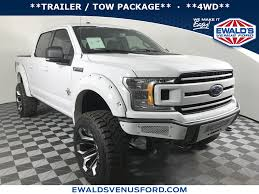 100 Ford Truck F150 New White 2018 SCA BLACK WIDOW Stk B11103 Ewald