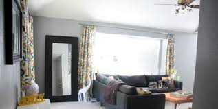 remodelaholic make a homemade curtain rod for under 10