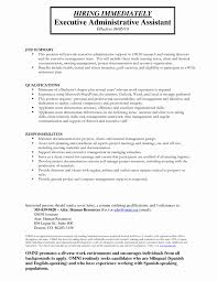 Executive Assistant Resume Samples 2016 Awesome Example For Administrative Examples Of Resumes
