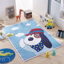 tapis chambre d enfant bande dessinée tapis de sol pour la chambre de bébé anti slip tapis