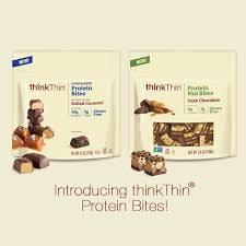 Inspired By The Growing Demand For Quick Wholesome Snack Options ThinkThin Has Shrunk Down Its Nutritious And Delicious Protein Bars To Create Latest