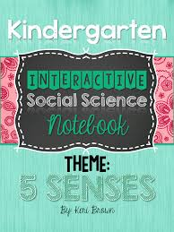 Teacher Deals And Dollar Steals Kindergarten Five Senses