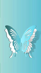 This Paper Cut Brings Life And Another Dimension To The Butterfly Which I Love