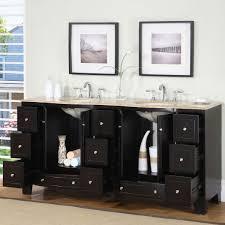 72 Inch Double Sink Bathroom Vanity by Amazon Com Silkroad Exclusive Countertop Travertine Stone Double
