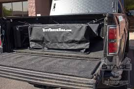 F150 & Super Duty Tuff Truck Cargo Bed Storage Bag - Black TTBBLK