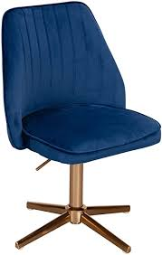 finebuy design drehstuhl dunkelblau samt drehbar küchenstuhl ohne rollen bequemer schalenstuhl esszimmer gepolsterter esszimmerstuhl mit lehne