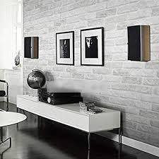 hchd graue weiße backstein muster tapete for wände rollen
