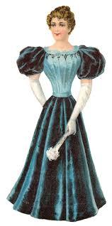 Fashion Dress Womens Illustration Clipart Digital
