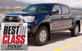 100 2012 Trucks CompactMidsize Pickup Best In Class Truck Trend Magazine