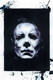 Michael Myers Actor Halloween 5 by Halloween Wine Portraits Michael Myers Freaky Pinterest
