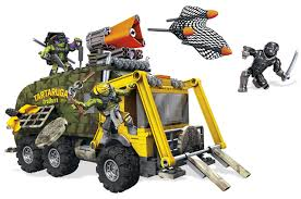 Other LEGO & Building Toys - Mega Bloks Teenage Mutant Ninja Turtles ... Fingerhut Teenage Mutant Ninja Turtles Micro Mutants Sweeper Ops Fire Truck To Tank With Raph Figure Out Of The Shadows Die Cast Vehicle T Nyias 2016 The Tmnt Turtle Truck Pt Tactical Donatellos Trash Toy At Mighty Ape Pop Rides Van Teenemantnjaturtles2movielunchboxpackagingbeautyshot Lego Takedown 79115 Toys Games Others On