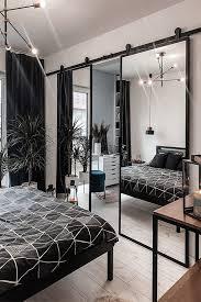 doppel schiebetür mit spiegel in einem schlafzimmer reno türen