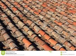 italian clay tiles stock image image of roofing design 46417835