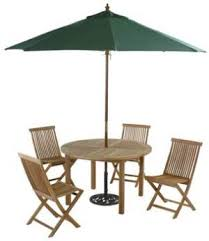 Round Patio Tablecloth With Umbrella Hole by Patio Set With Umbrella In Modern Decoration Johnson Patios