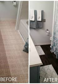 Peel N Stick Tile Floor by Peel And Stick Brown Tiles For Bathroom Floor Hometalk